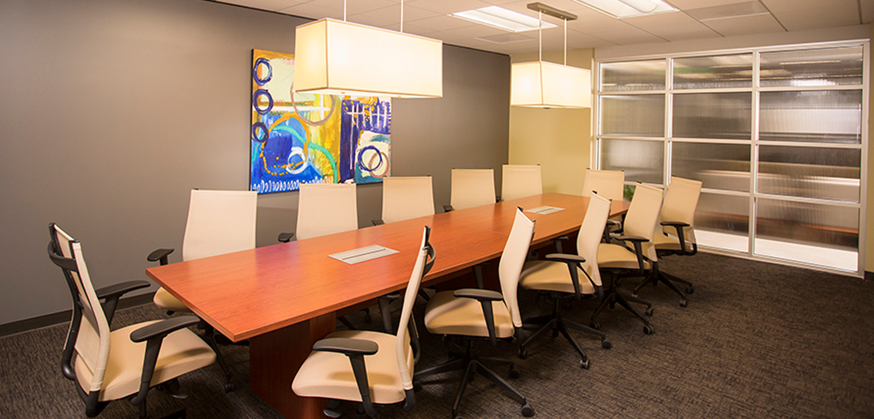 Bankers' Bank of the West conference room