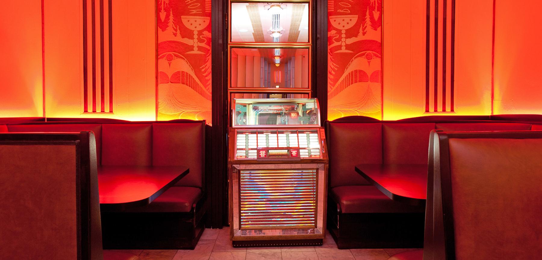 The Cruise Room jukebox