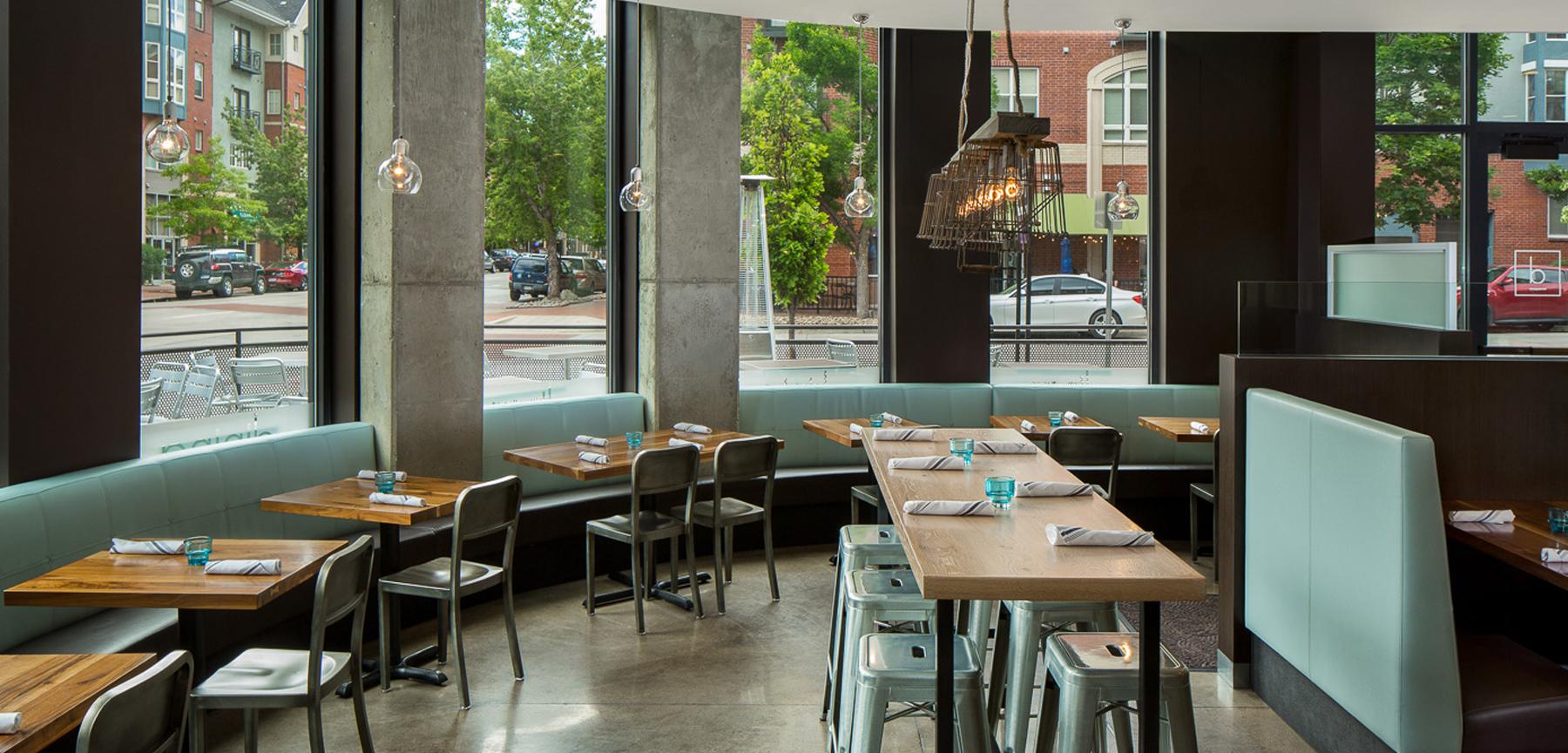 D Bar Denver dining area