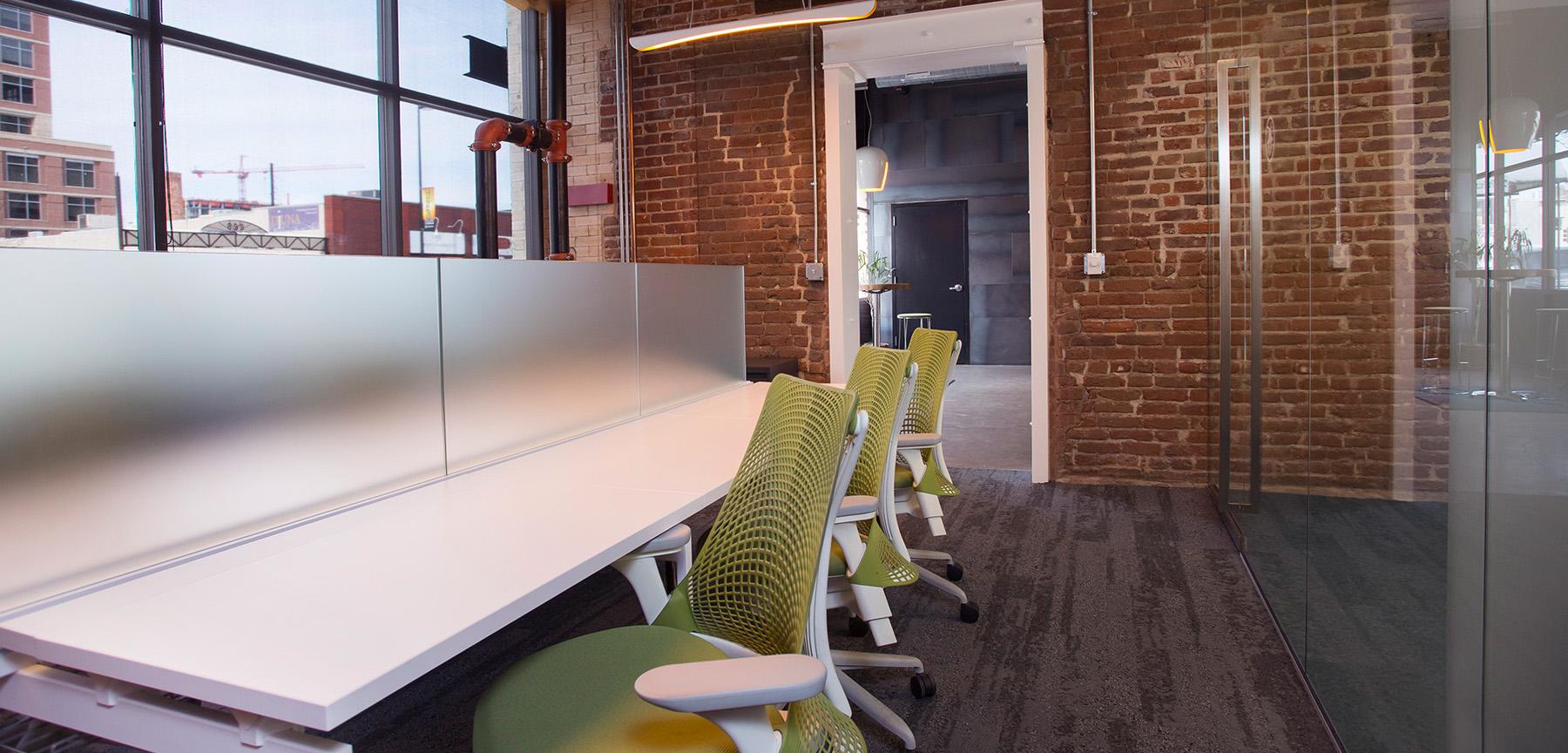 PorchLight Real Estate desks