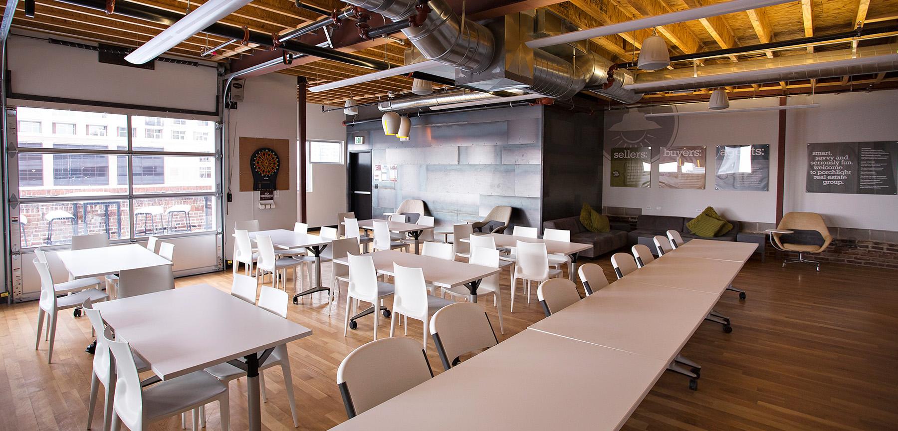 PorchLight Real Estate training room