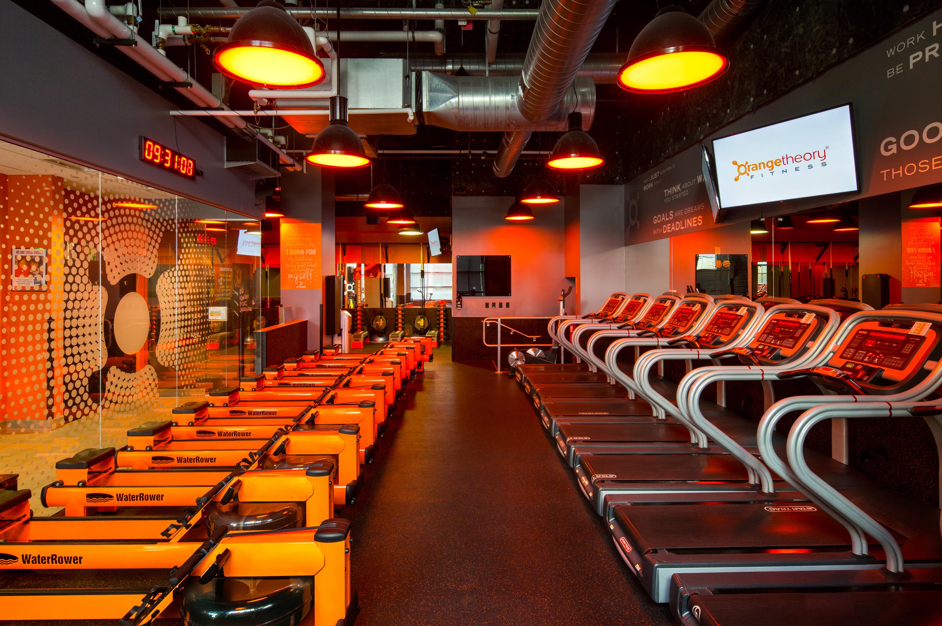 Fitness Center Buildout, Denver Colorado- Jordy Construction Orange Theory 2