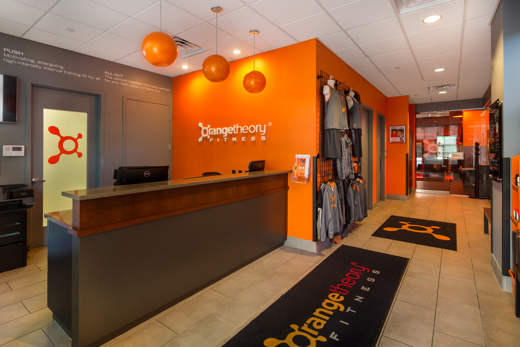 Fitness Center Buildout, Denver Colorado- Jordy Construction Orange Theory 1