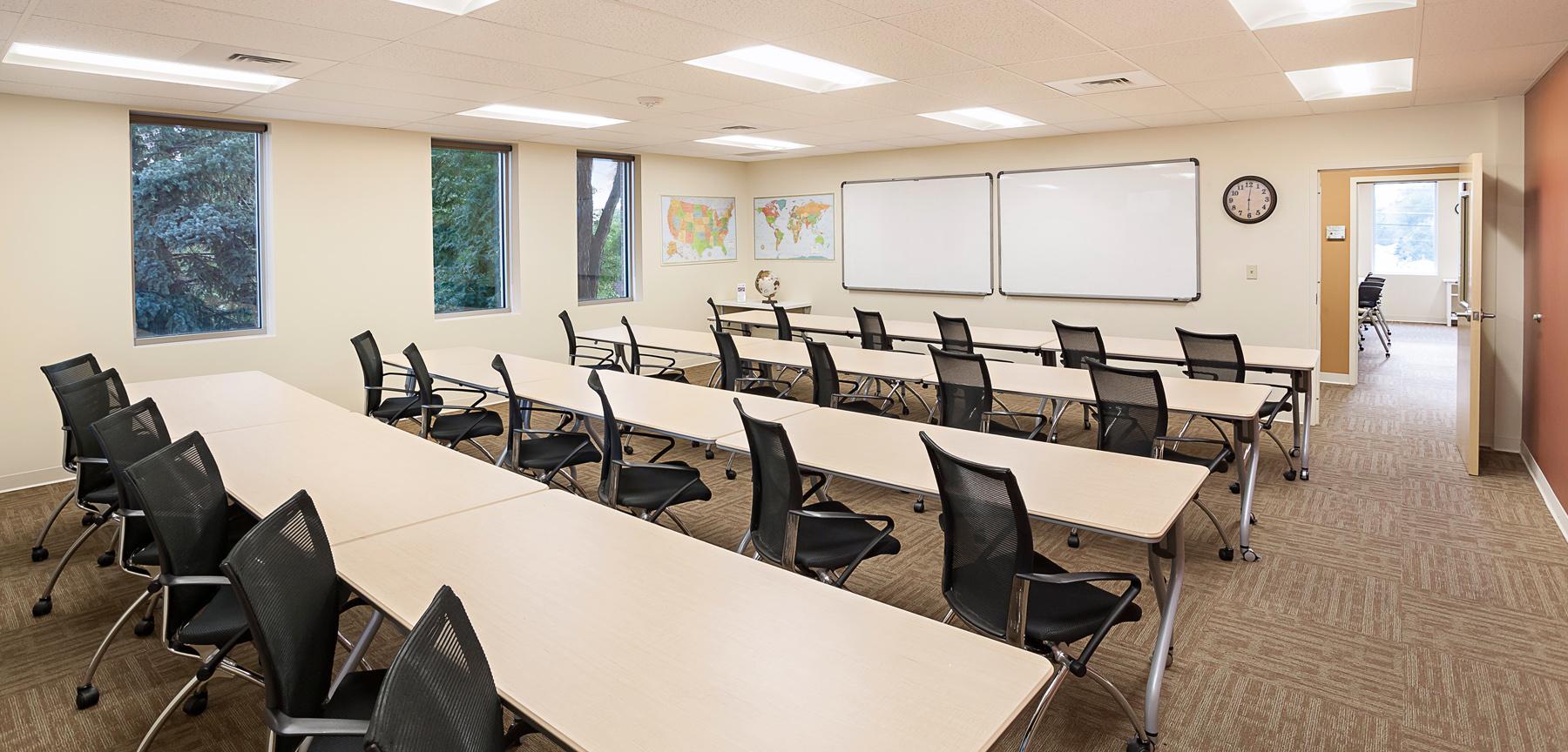 Asian Pacific Development Center classrooms