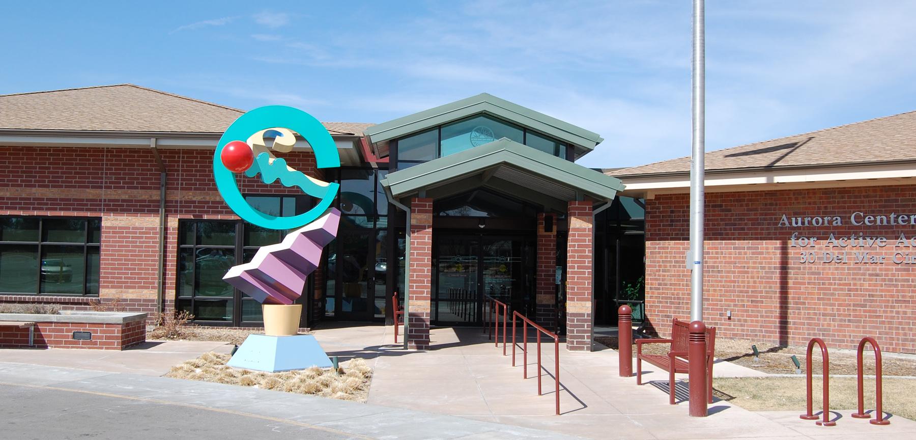 Aurora Senior Center exterior