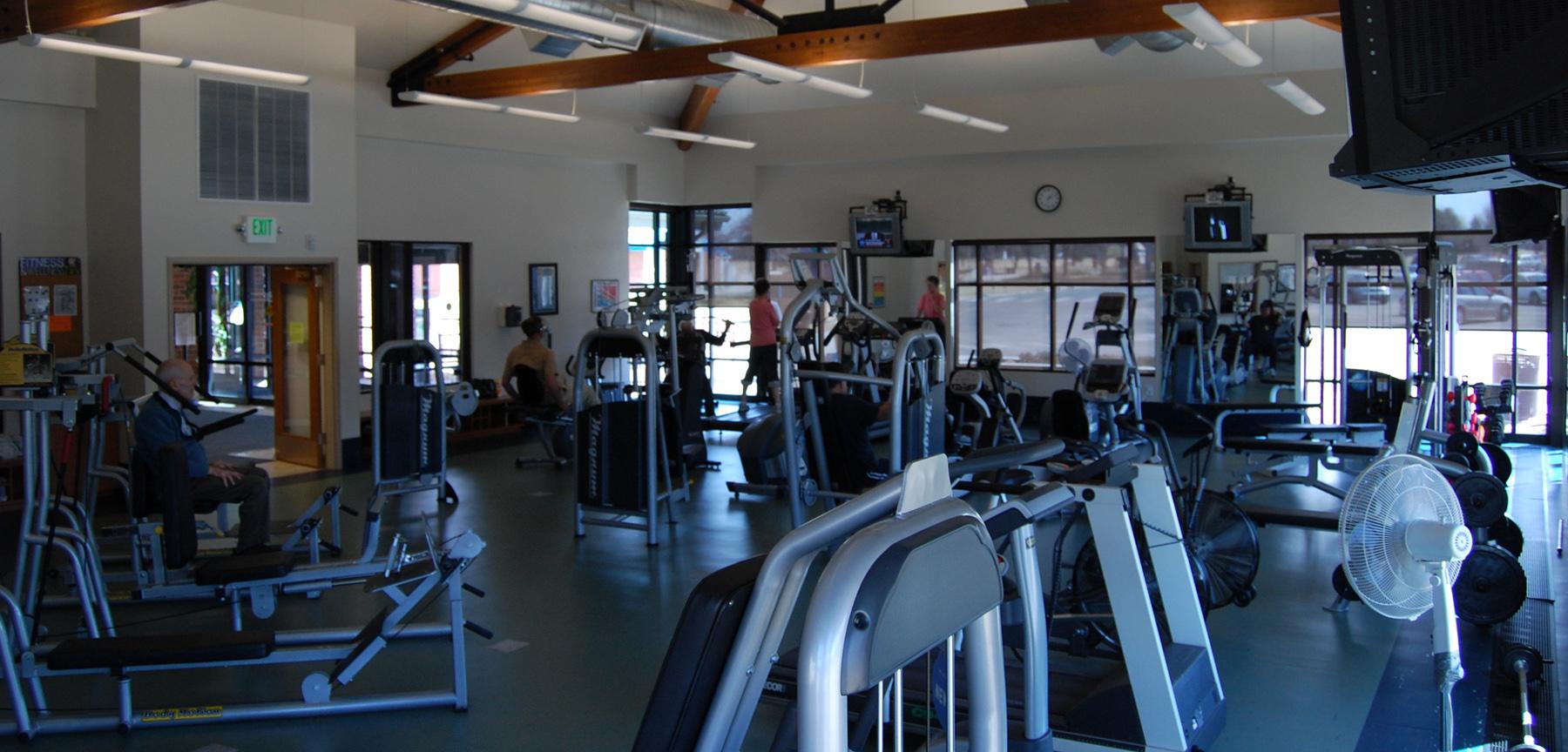 Aurora Senior Center fitness room