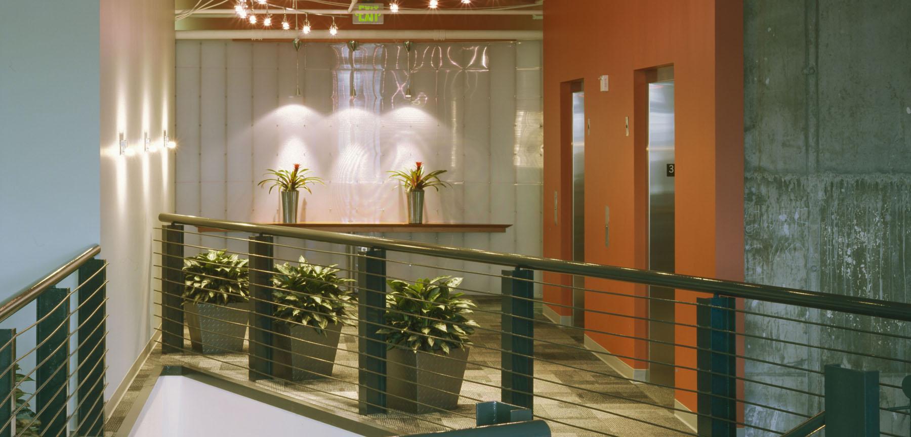 Integer Advertising Agency elevators