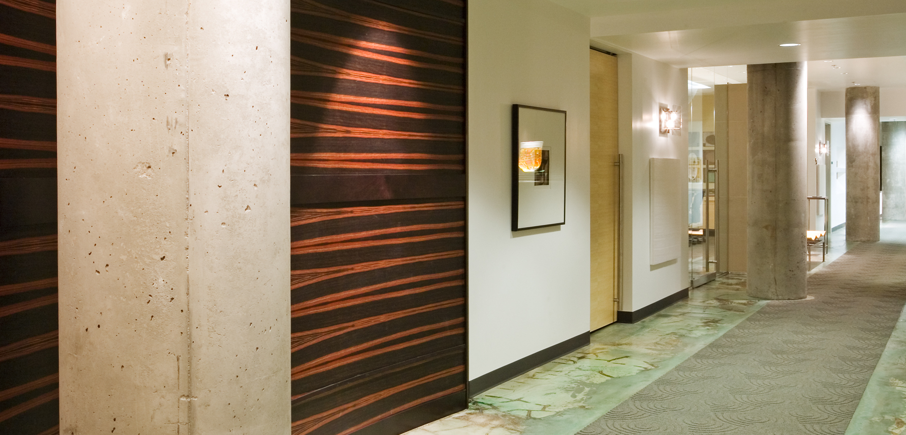 McGeady Sisneros hallway