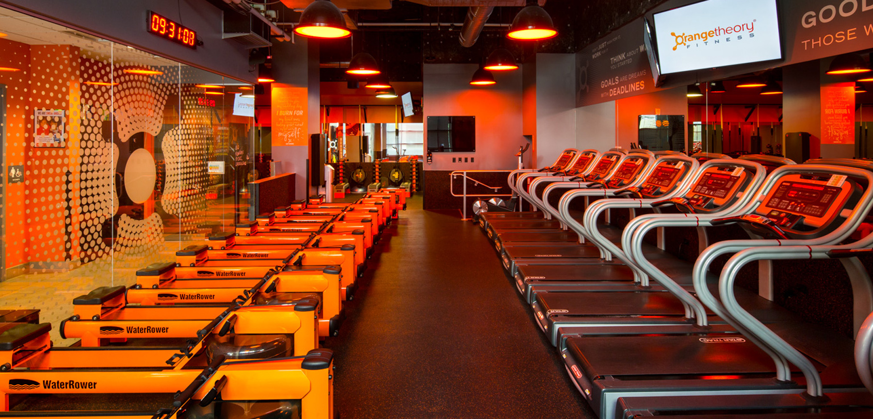 Orangetheory fitness cardio machines