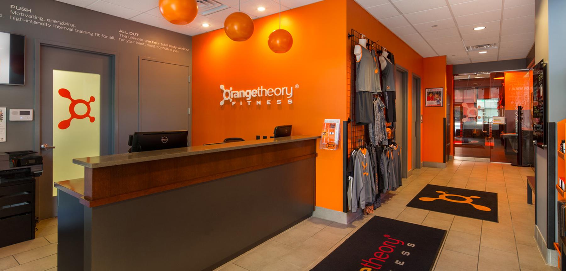 Orangetheory fitness lobby