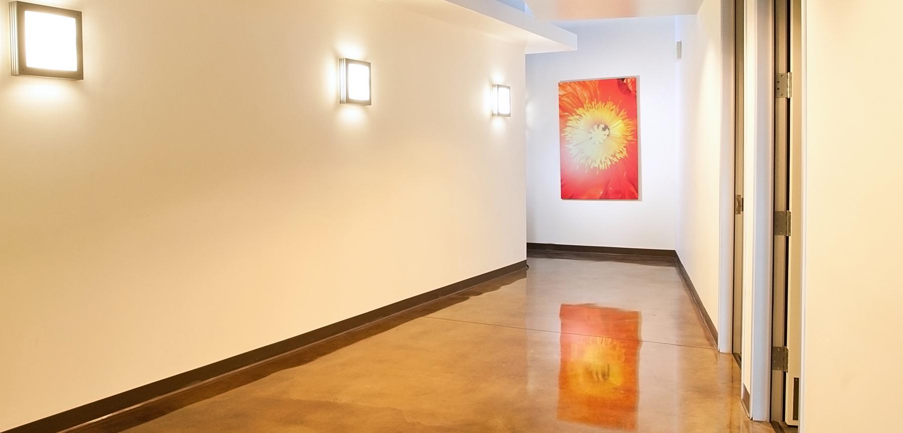 Vein Care Institute hallway