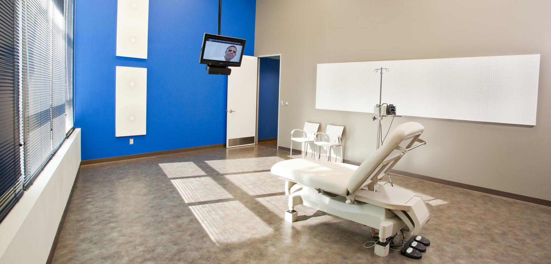 Vein Care Institute operating room
