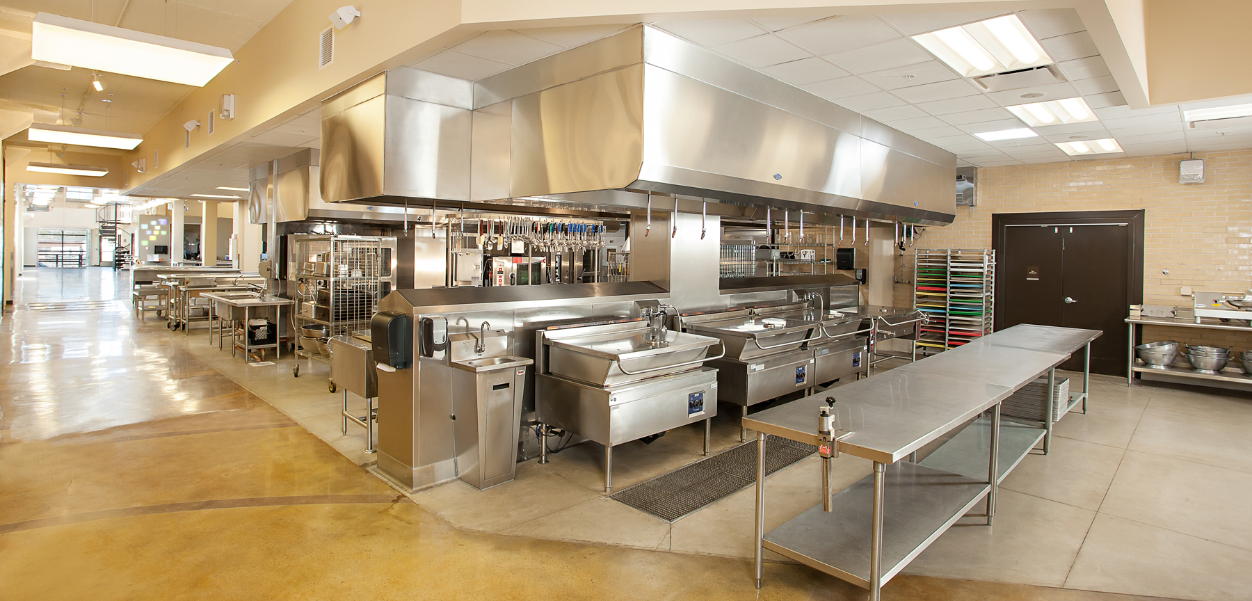 Project Angel Heart commercial kitchen