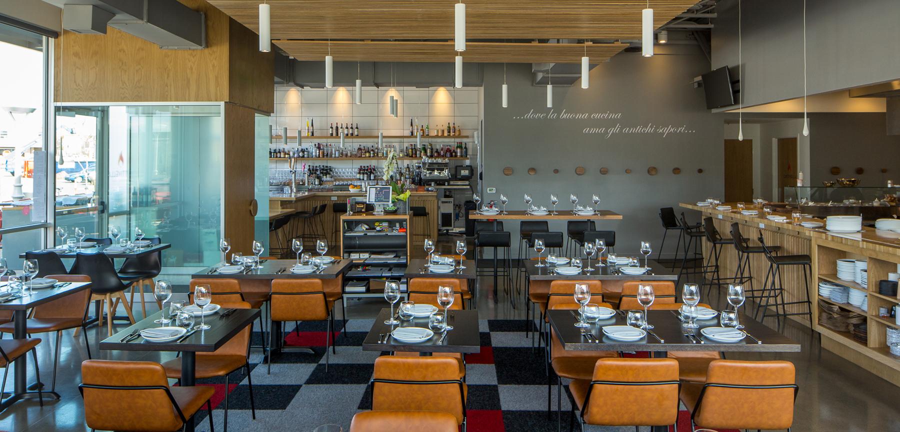 Cattivella restaurant dining area