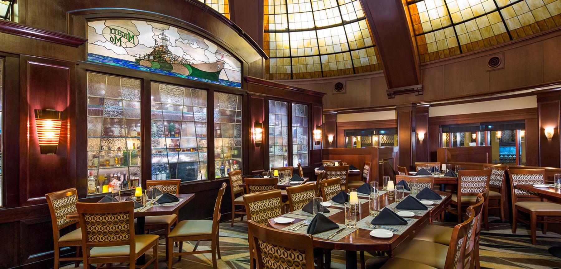 McCormick & Schmick's restaurant in Kansas City, MO - dining area