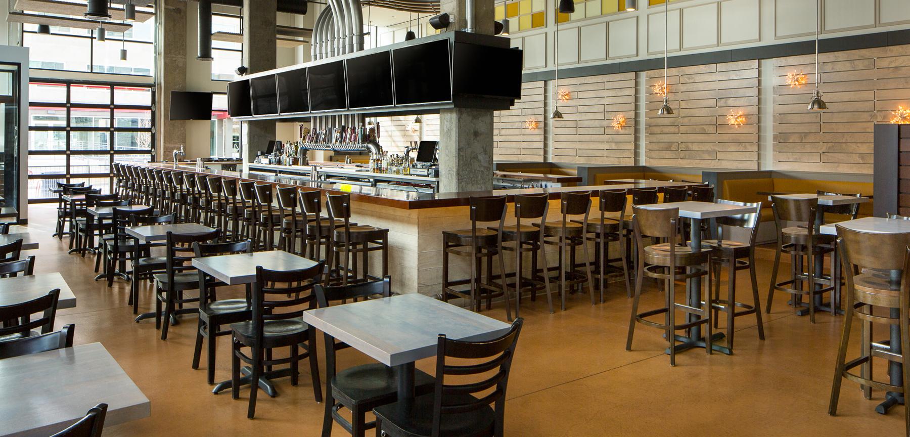 Sloan's Lake Tap & Burger dining
