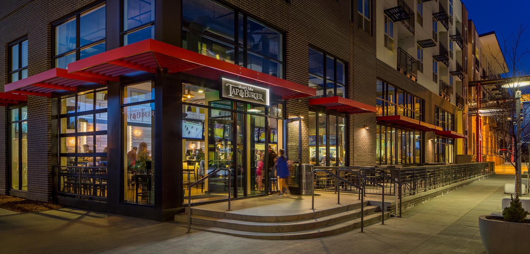 Sloan's Lake Tap & Burger exterior