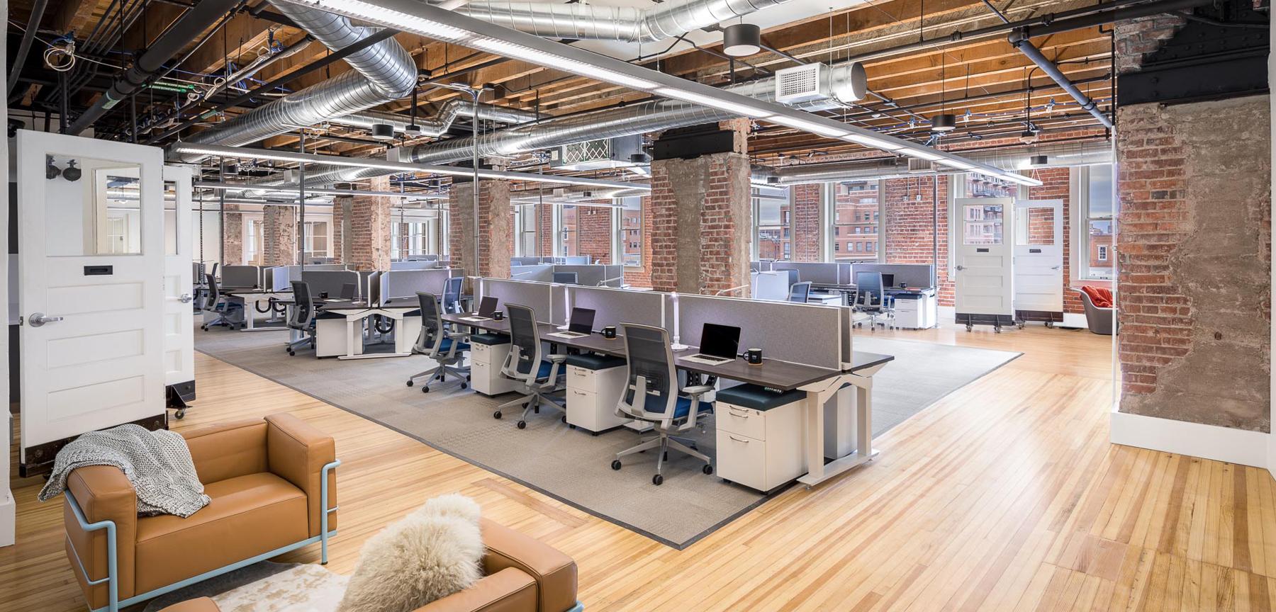 Inspirato office desk area