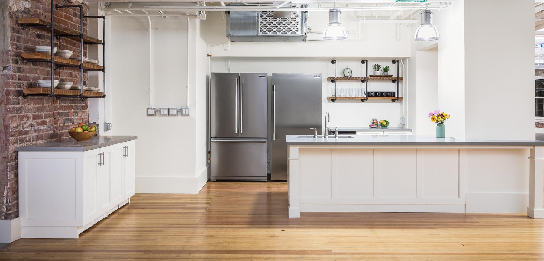 Inspirato office kitchen