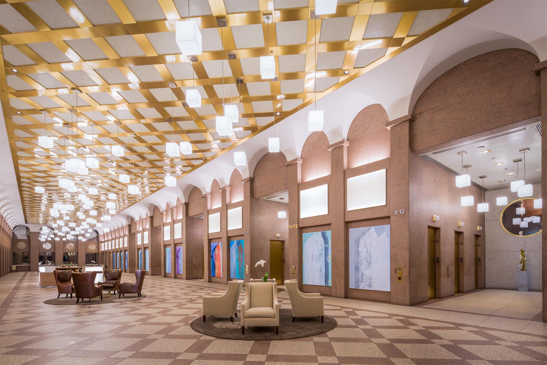 Lobby Renovations, Denver Colorado
