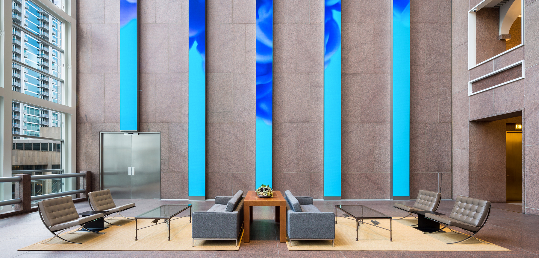 Wells Fargo lobby