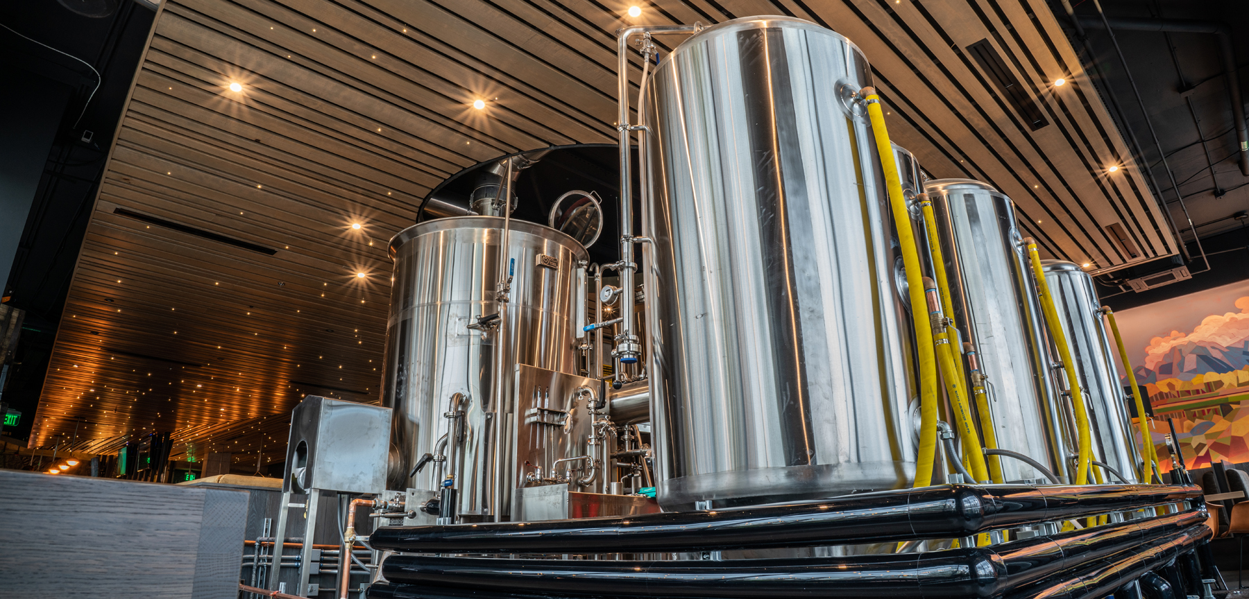 Great Divide Brewery & Roadhouse 5-barrel brewery system