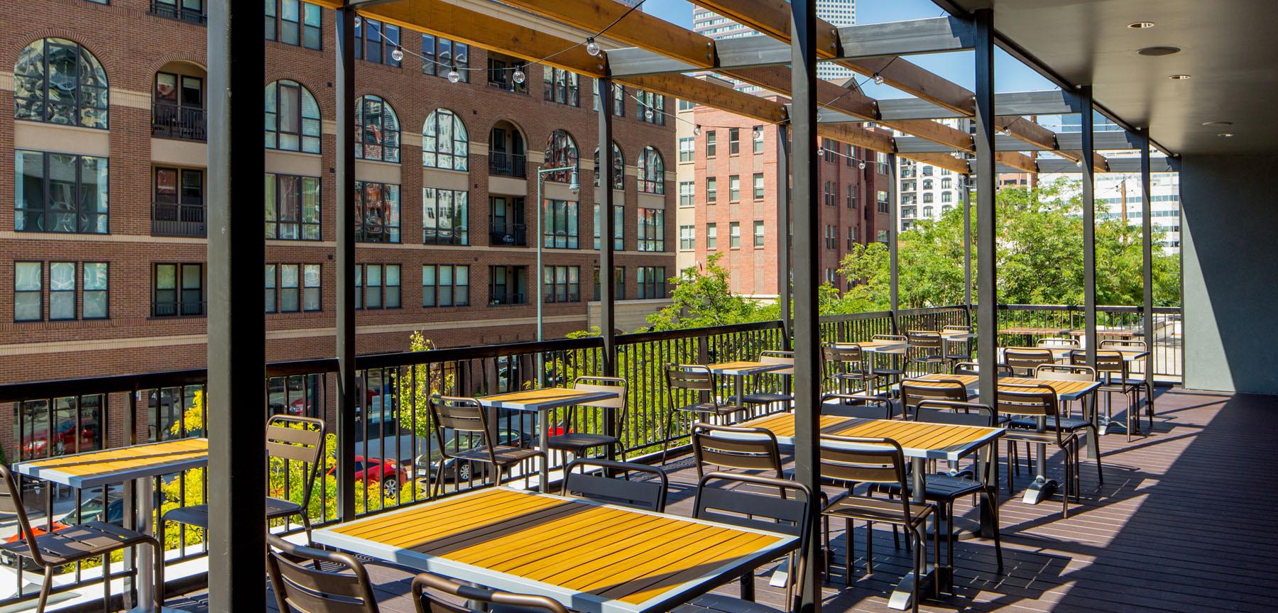 Las Delicias Restaurant Rooftop Patio