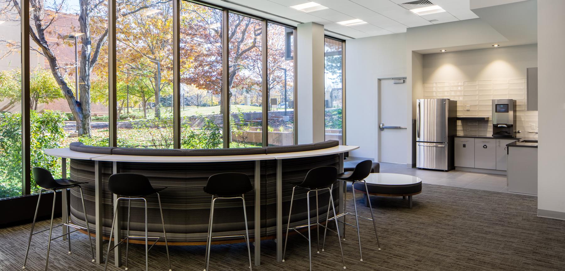 H5 Data Centers break room