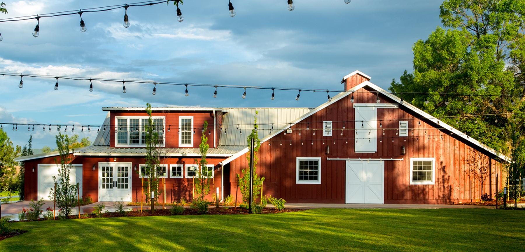 The Barn at Raccoon Creek barn and groom's loft
