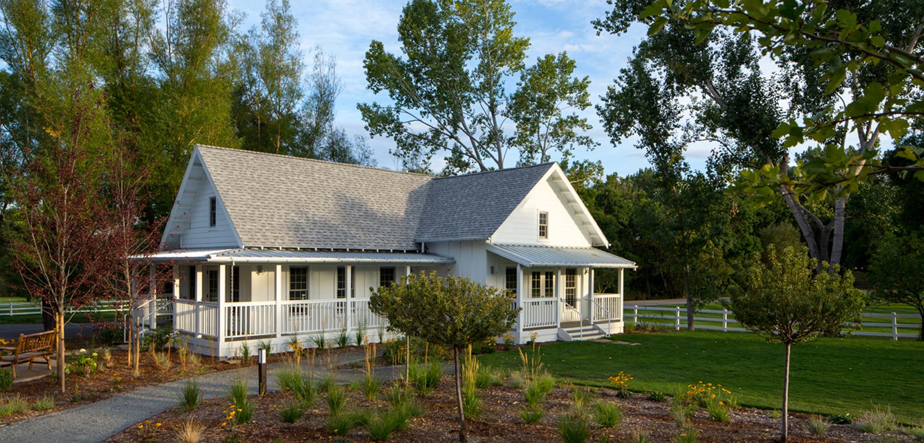 The Barn at Raccoon Creek bridal cottage