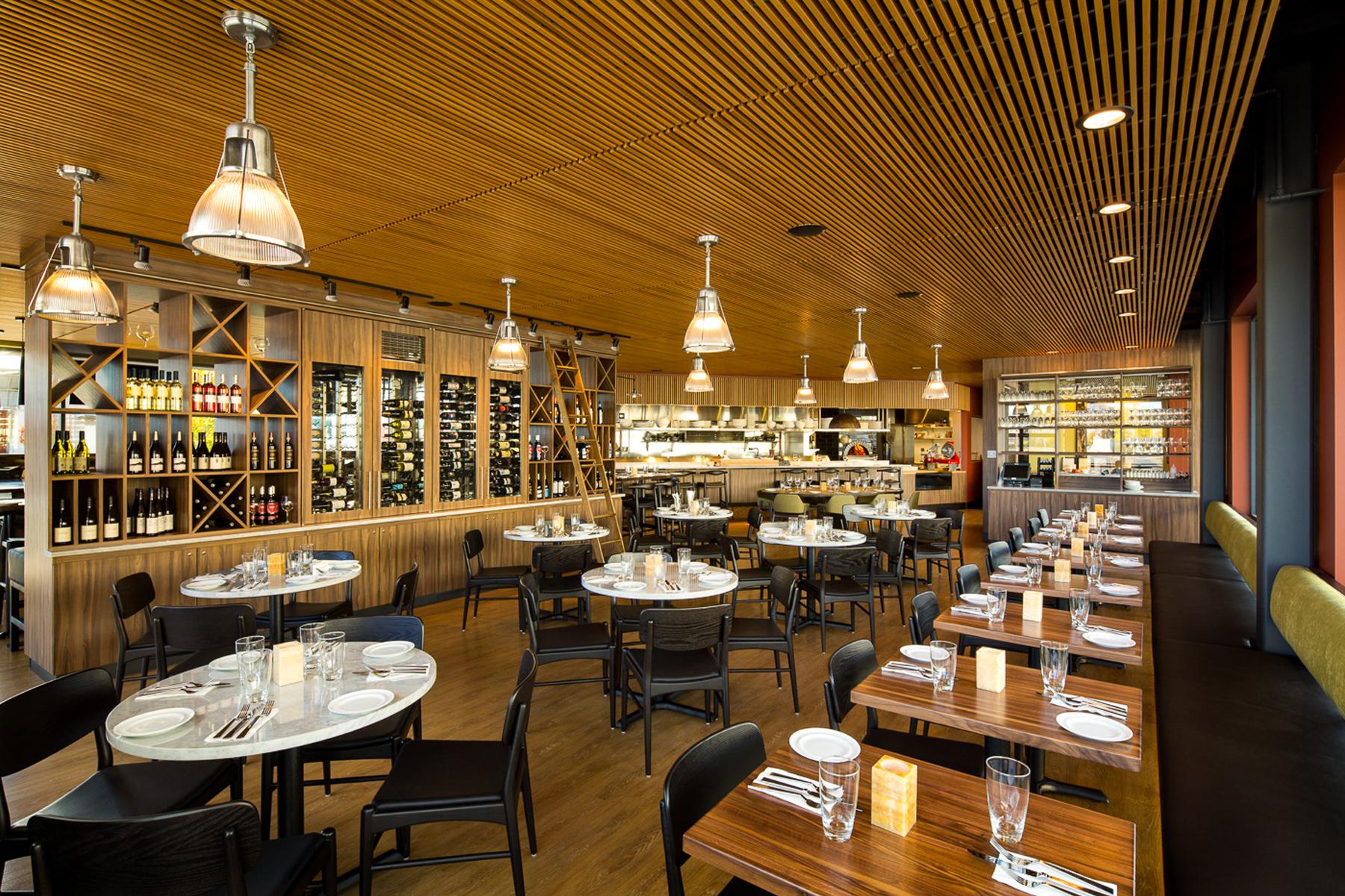 Cafe Mercato dining area