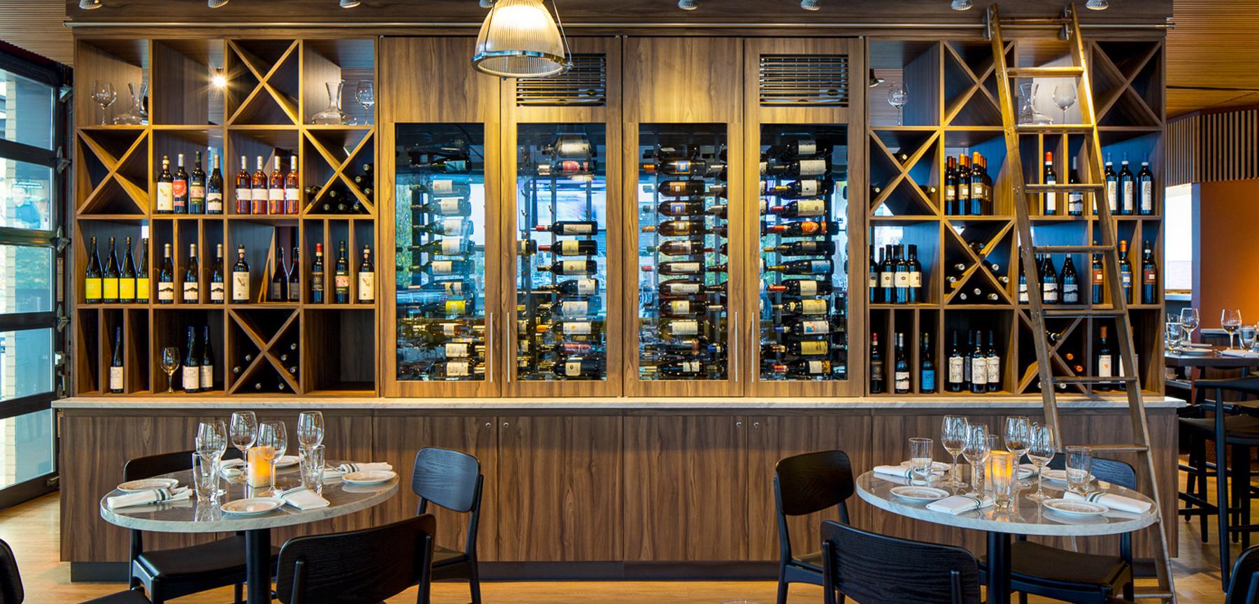 Cafe Mercato wine bar